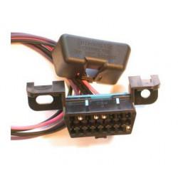 Conector OBD II|Dodge|Caliber|Chevrolet|Blazer|Toyota|Yaris|Chevrolet|Aveo|Jeep|L
